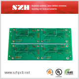 Double-Sided PCB with Green Solder Mask