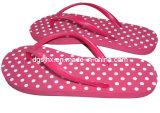 Red EVA Flip Flop Slippers