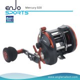Mercury Plastic Body / 3+1 Bb / EVA Right Handle Sea Fishing Trolling Fishing Reel