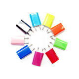 Colorful Portable USB 5V 1000mA AC EU Wall Charger for Samsung S7 Edge S6 iPhone 7 6s 6 Plus 5g iPod Mobile Phone