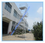 Safe Ce Approved Mobile Aluminum Scaffold Tower for Decoration