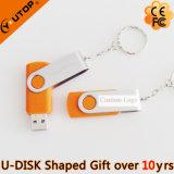 Elegant Customerized Logo Design Gift Orange Metal USB (YT-1201)