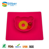 Flexible Tableware Funny Kids Reusable Silicone Kids Meal Mat