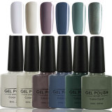 Srn 6PCS/Set Soak off Gel Nail Polish Kit Long Lasting Gel Lacquer