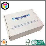 Custom Color Print White Flute Corrugated Paper Shipping Box