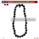 Costume Jewelry Kukui Nut Lei Pearl Necklace (BO-3038)