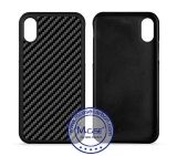 for iPhone 8 Cases, Real Carbon Fiber Cell Phone Cover Soft TPU Case for Apple iPhone 8