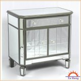 3-Drawer Mirrored Accent Chest