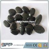 3-5cm Black Polished Natural Cobble & Pebble Stone