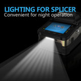 Sm&mm Automatic FTTH Fiber Optic Splicing Machine Optical Fiber Fusion Splicer