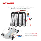 911129-G. T. Power 30-80º C Temperature Controlled Tire Warmer Strip Heater for 1/10 Touring Car Pre-Heat Rubber Tires