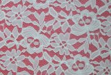 Newest Popular Lace Fabric Wtih Neat Floral Pattern, Textile and Bridal Ls10054