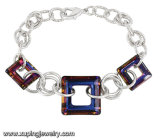 74679 Fashion Charm Bracelet with Crystals From Swarovski Jewelry