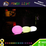Party LED Decoration Flat Balls LED Mood Lamp with Remote Control