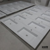 Italy Modern Design Stone Resin Bathroom Solid Surface Basin