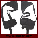 Swat Tactical Armpit Shoulder Pistol Holster with Mag Pouch