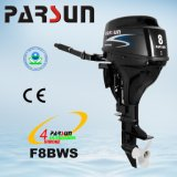 F8bws, 8HP 4-Stroke Tiller Control, Electric Start and Short Shaft Outboard Motor