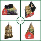 Folded Bottom Custom Design 6 Packed Glossy Wine Box