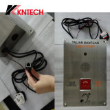 VoIP Emergency Phone Stainless Steel Telephones Video Camera Knzd-20 Kntech