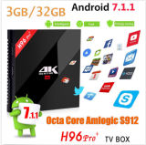 New Model H96 PRO 64 Bit Amlogic S912 3G+32g Google Android 7.1.1 Best TV Box