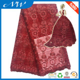 Wholesale High Quality Embroidered Tulle Fabric Lace