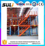 Steel Platform Structure Mezzanine with Mutilevel Floor Design