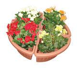 Plastic Corner Flower Pot (KD3012)