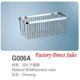 Stainless Steel Bathroom furniture Towel Shelf (G006A)