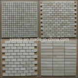 Spain Crema Marfil Marble Mosaic Tiles/Patterns for Interior & Exterior Decoration
