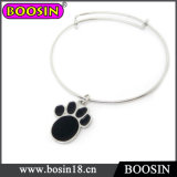 200PCS/Lot Lovely Black Dog Paw Bangle for Lovely Girls Wholesale