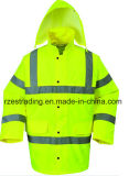 En343 Waterproof and Breathable High Visibility Safety Wear