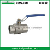 Nickel Plated Brass Forged Ball Valve with Round Body (AV1005)