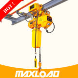 1 Ton Electric Chain Hoist with Electric Monorail Trolley