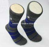 2016 New Design Custom Mens 100% Cotton Mens Cotton Socks