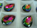 Rainbow Color Teardrop Strass Stones Beads