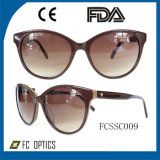 Wholesale Top Quality Acetate Sunglasses Glasses (FCSSC009)