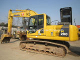 Secondhand Komatsu PC200-8 Excavators Used Construction Machinery for Sale