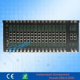 High Stability Central Telephone Exchange up to 256 Extensions 32 Co Lines Hotel PBX