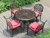 Garden Patio Furniture Set Cast Aluminum Table and Chairs Hotel Outdoor Deck Backyard Park