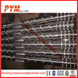 Bimetallic Screw Barrel for Plastic Recycling
