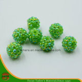 Single Hole Rhinestone Ball Beads (HANS-1608)