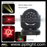 Lens Rotating 19PCS *15W RGBW 4in1 LED Moving Head Light with Zoom