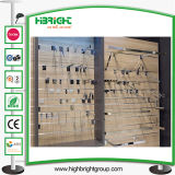 Powder Coating Supermarket Retail Hanging Slatwall Hook
