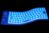 OEM Protable Flexible Silicone Keyboard