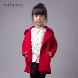 Pure Colour Knitted Winter Clothes Sweater for Girls