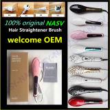 Newest Beautiful Star Nasv-100 Electric New Hair Straightener Brush Comb