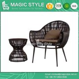 New Design Rattan Wicker Chair Leisure Chair Outdoor Furniture Patio Chair Balcony Chair Coffee Set Classical Furniture (Magic Style)