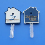 House Shape PVC Key Cap House Key Protect Key Cover