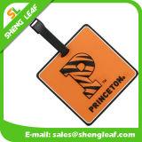 Eco-Friendly Soft PVC Rubber Luggage Tag for Travel (SLF-LT019)