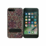 Standing PU Paste TPU Protective Mobile Phone Case for iPhone 8 Plus